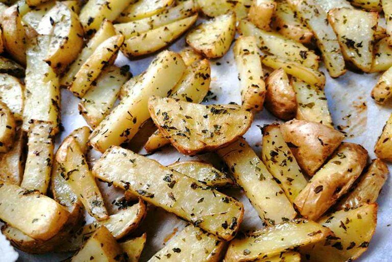Patatas Fritas al Horno (muy saludables)