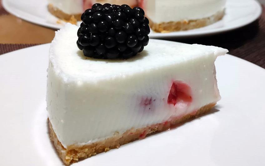 pastel yogur sin horno