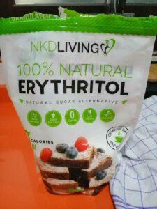 Eritritol 100% natural NKD Living