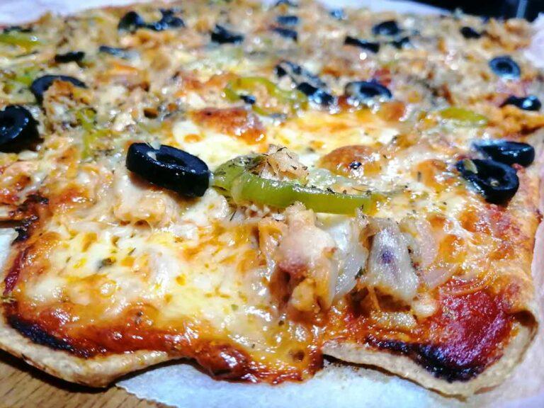 Pizza de Espelta 100%