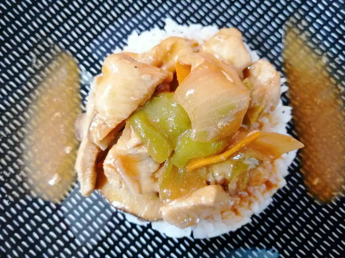 pollo estilo chino con verduras