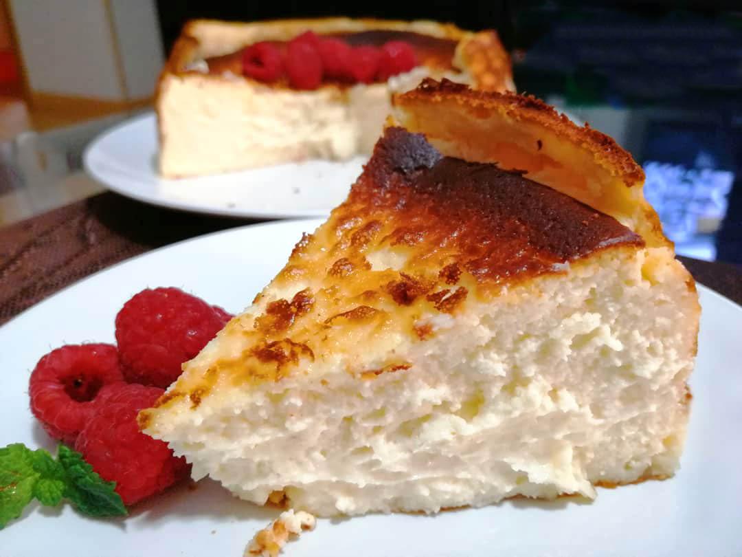 receta de tarta de queso la viña