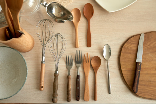 ¡Mis utensilios de cocina!