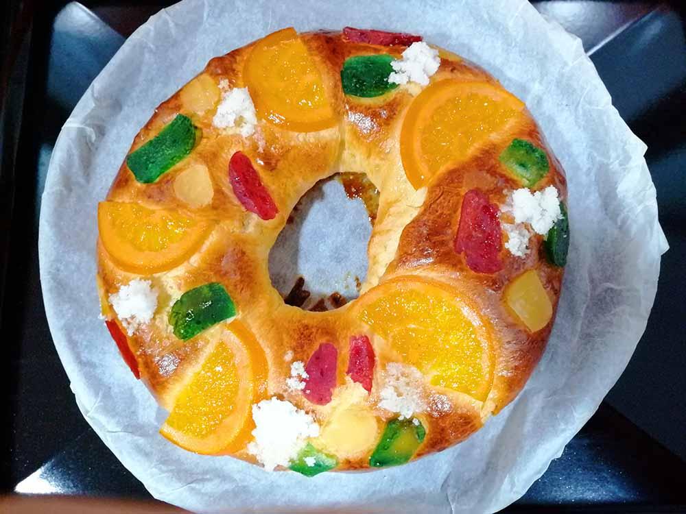 Receta de Roscón de Reyes Pequeño