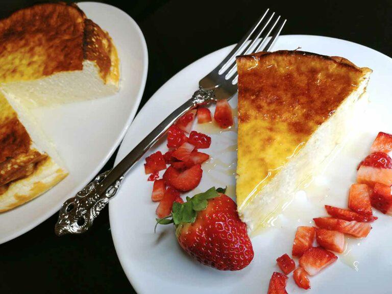 Tarta de Queso Fresco Batido y Yogur