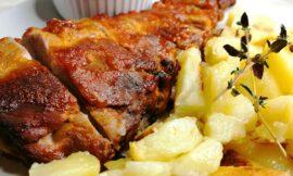 Costillas al Horno con Salsa Barbacoa Casera